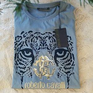 🆕️Roberto Cavalli Girocol Jaguar Tee (XXL)